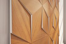 Wooden walls / Wall cladding // acoustics
