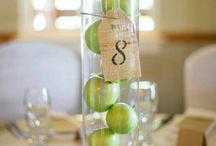Decoration in table