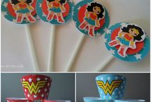 Wrappers y Topper para Cupcake