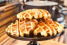 Bakery sweets / Waffles , pancakes & more