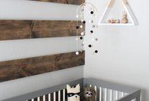 Rustykalny pokój dziecka