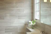 baños en beige
