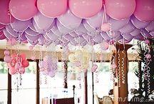 balloons / Balloon Wedding Ideas