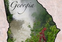 Georgia / Lived in Ft. Oglethorpe many years. Love this state. My daughters still live here. / by Carolyn Eisenman