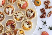 Appetizers and party food