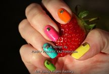 Shellac nails by FUNKY FINGERS FACTORY / MY WORKS