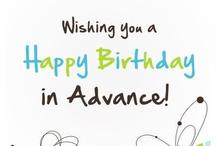 Advance Happy Birthday /  LIKE MY WEBSITE