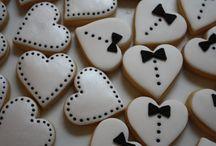 свадебные печеньки