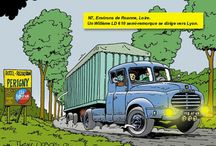 ROUTE NATIONAL 7 / routes national Frankrijk/thiery Dubois/RN-7