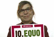 I sostenitori di IO.EQUO / www.ioequo.it  IO.EQUO è la campagna di sensibilizzazione che Altromercato ha inaugurato il 12 maggio 2012, in occasione del World Fair Trade Day.  Ha l'obiettivo di far conoscere il modello economico del commercio equo e solidale, basato sulla sostenibilità non solo economica, ma anche sociale e ambientale, e proporlo come valida alternativa ai modelli economici dominanti.