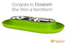 Hepper Giveaway Winners! / Want to win a Hepper? Sign up on our facebook page or mailing list!   www.hepper.com