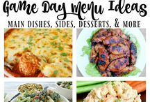 Football & Tailgating Recipes / Touchdown! All recipes and fun ideas for tailgating, superbowl parties, appetizers, finger food, gameday, starters, and snacks.