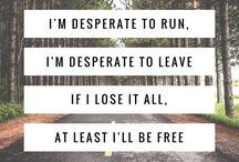 lyrical quotes.