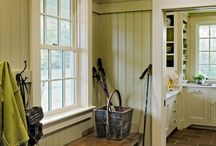 Home: Magnificent Mudrooms / Mudrooms aren't just for mud! Beautiful Mudroom Inspiration.