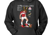 Rugby World Cup 2015 / Some shirts for the Rugby World Cup