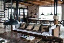 a - barn interior