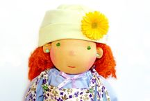 Amazing dolls / Very cute waldorf dolls / by Lululu