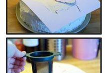 Torta arcképpel