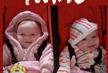 Travelling with Multiples / Traveling with Twins or more! Here are some great tips from our bloggers