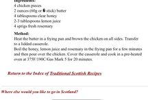 A Scottish Interlude: A Semi-Formal Luncheon