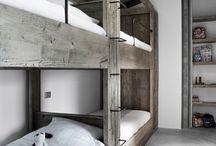 lits superposés / lit cabane