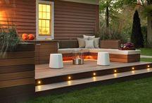 Design av bakgård