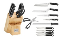 Cutlery Block Sets and Knife Roll Bag Kits / Pro Series Block Set and Steak Knives / by Ergo Chef
