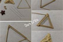 tvoření z papírových ruliček