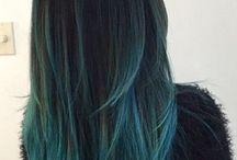 Farget hår