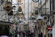 Улицы австрийских городов