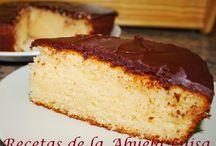 recetas de postres / by Kety Alvarez