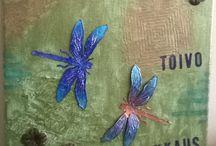 Crafts by Miuku / Paper arts, paintings, shrink plastics, etc.