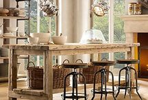 Rustic Island Table