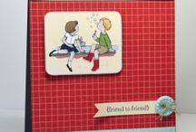 Cards: Friends and All Occasion / Friendship card and All Occasion cards hand made by Stamp artists all over the world