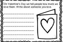 First Grade Valentine's Day Activities