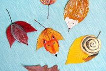 Gorgeous Flowers & Leaves / I love nature - especially flowers and leaves and am always on the look out for fantastic crafts using REAL flowers and leaves. These make for wonderful Autumn (Fall) crafts and displays.