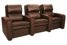 Majestic Seating / The Seatcraft line of Majestic home theater seats can be custom-built from a wide range of materials, colors, and added features, for the ultimate seating experience.