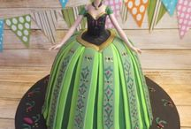 Anna Cake Designs / This shape cake is made by using our Dolly Varden cake tin.