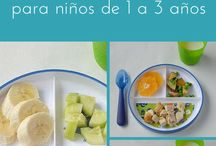 comida para niños de 1 a 3 años