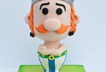 cake Asterix Obelix
