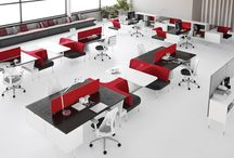 Office Working Concepts / Ideas and layouts for new ways of office working and designs.