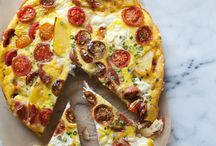Pizza / Everything pizza. Fruit pizza, mini pizzza's, big pizza's, you get the gist....