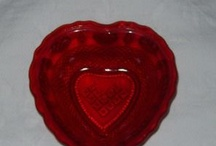 Red Radiance New Martinsville Glass Co. From 1936-1939 / by Katherine Barnes