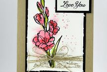 """Stampin Up """"Gift of Love"""""""