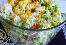 Salads / Hot or cold salads