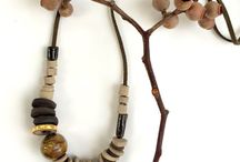 Ceramic Beads & Necklaces