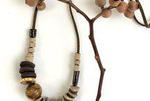 Ceramic Beads & Necklaces