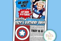 Party Ideas for Kiddos! / by Ashton Smith