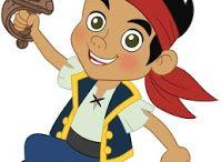 Sweet Table - Jack et les Pirates