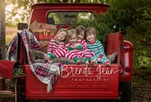 Holiday vintage truck photos / Holiday vintage truck photos